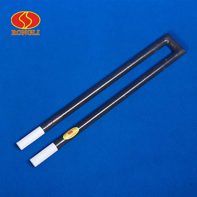 RLN-type - U-type SiC heating element with the coating of water-resistance and oxidation-resistance